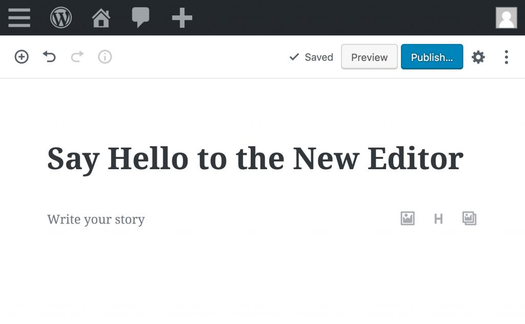 Cómo regresar al editor clásico de WordPress 1